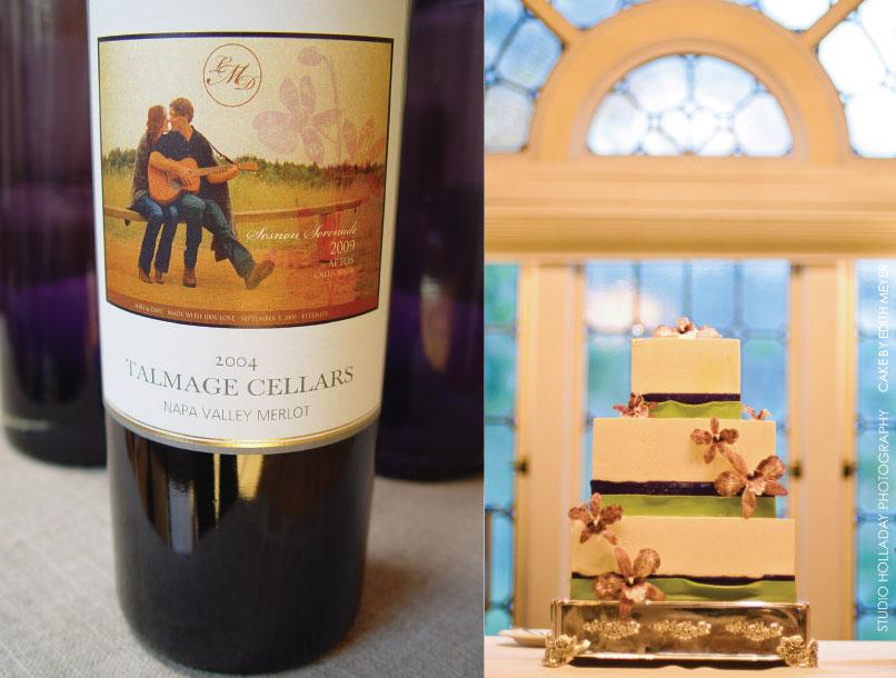 Sesnon Serenade Cake & Wine