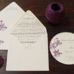 Sesnon Serenade Letterpressed Save the Date