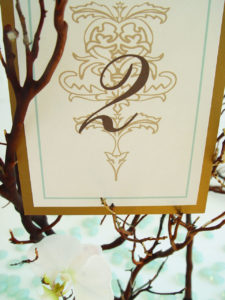 The Charleston Table Cards
