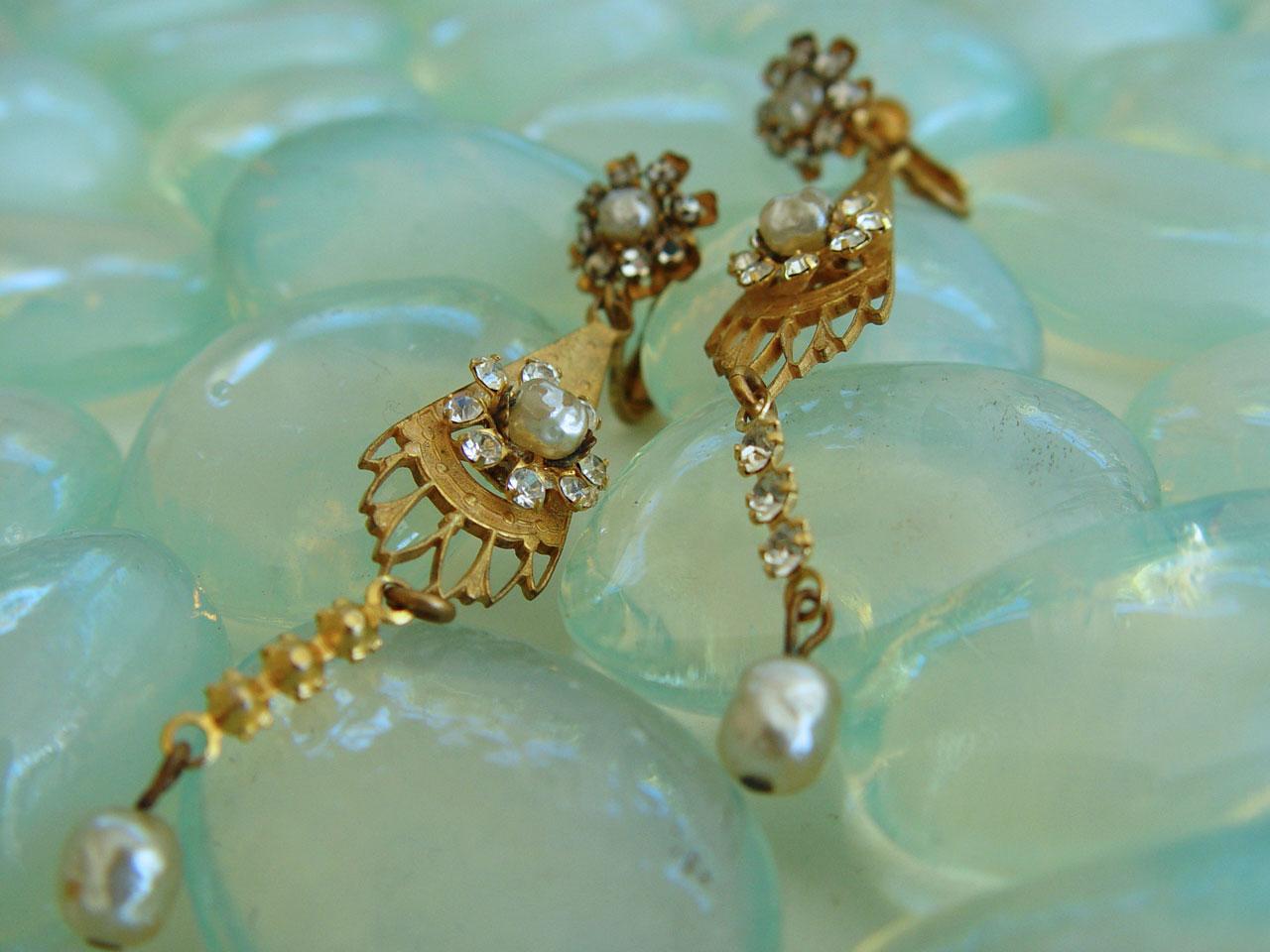 The Charleston Vintage Earrings