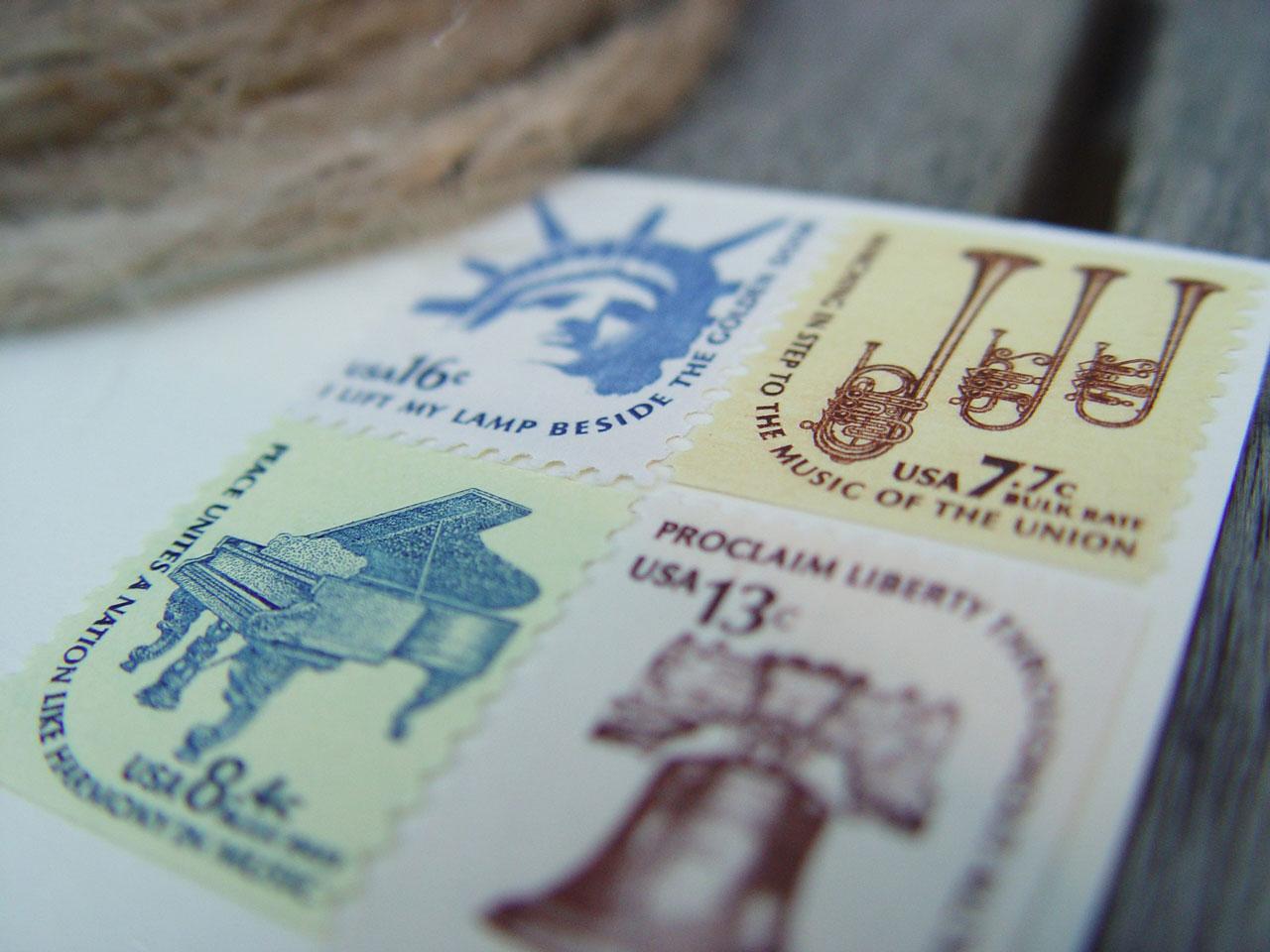 80 Parone Vintage Stamps