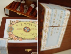 Haute Dog Cigar Boxes with Seal